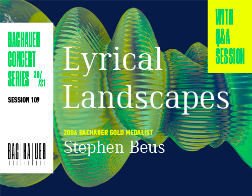 Lyrical Landscapes (March 4 at 7:30 pm MST)